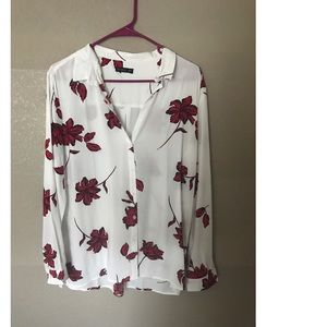 Cotton On Floral light weight button down